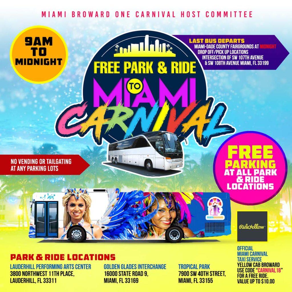 2019 Park & Ride Information